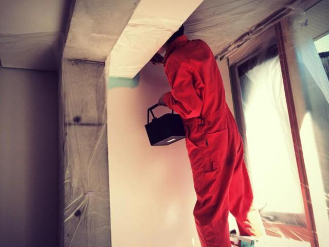 A379壁塗り